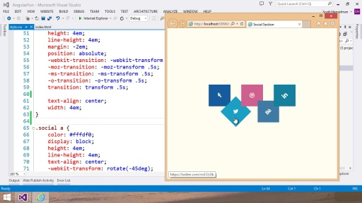 Visual Studio 2013 Web Editor Features - CSS