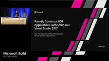 Rapidly Construct LOB Applications with UWP and Visual Studio 2017