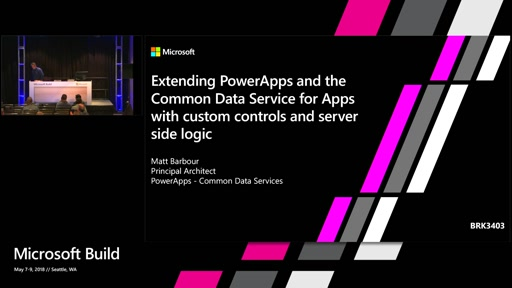 Extending PowerApps and the Common Data Service for Apps with custom controls and server side logic