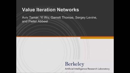 Value Iteration Networks