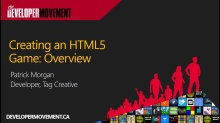 Creating an HTML5 Game: Overview