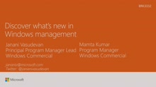 Discover what's new in device management