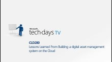 CLD280 - Lessons Learned From Building a Digital Asset Management System in the Cloud Live Q&A with Jean Lozano