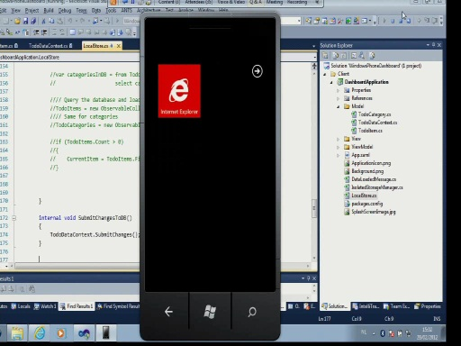 Windows Phone: Application Lifecycle, IsoStore & Local Database