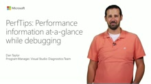 PerfTips: Performance Information At-a-Glance While Debugging