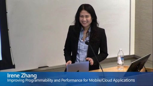 Improving Programmability and Performance for Mobile/Cloud Applications