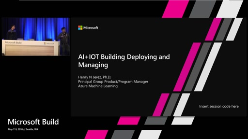 AI + IoT:  building, deploying, and managing you custom AI on the edge