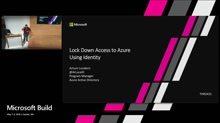 Lock down access to Azure using identity