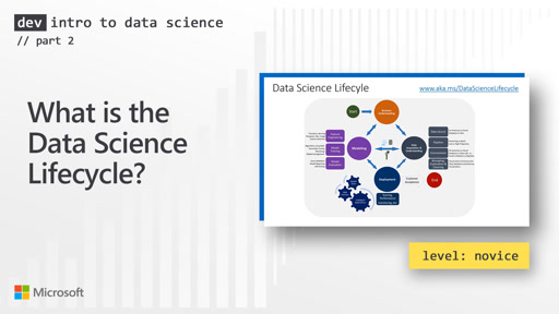What is the Data Science Lifecycle? (2 of 28)