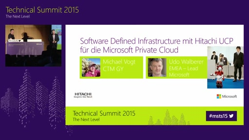 Aufbau einer Software Defined Infrastructure mit Hitachi UCP für die Microsoft Private Cloud