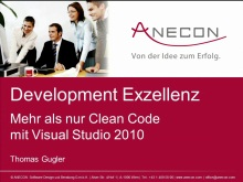 Development:From Mystery to Mastery - Development-Exzellenz mit Visual Studio
