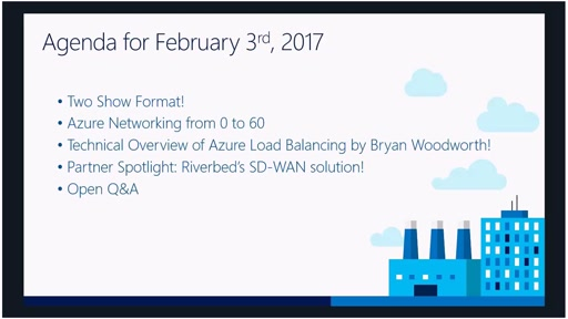 Azure Networking Fridays 2/3/2017