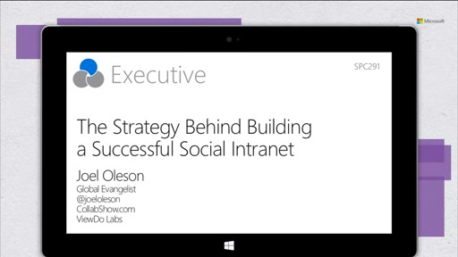 The strategy behind building a successful social intranet