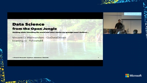 Data Science from the Open Jungle