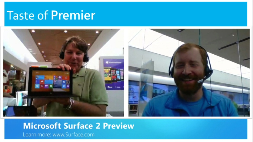 Taste of Premier: Microsoft Surface 2 Preview