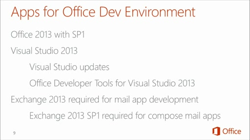 Introduction to Office 365 Development: (08) Setting Up your On-Premises Enviornment for App Development