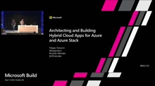 Architecting and Building Hybrid Cloud Apps for Azure and Azure Stack