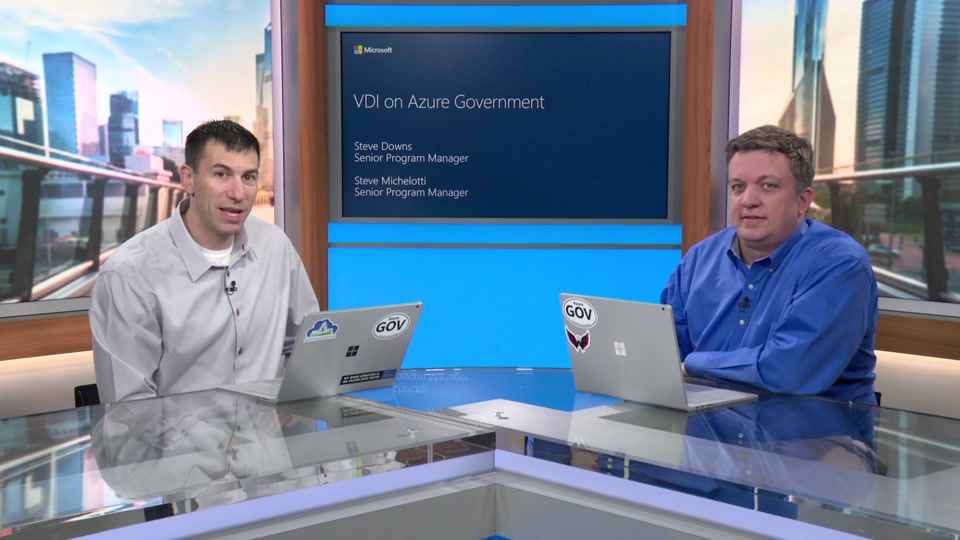 Virtual Desktop Infrastructure for Azure Government