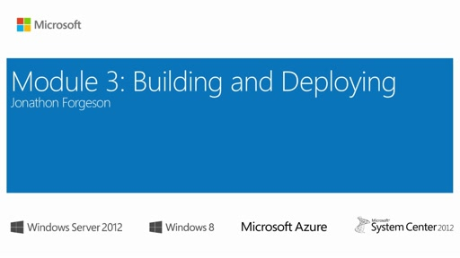 (Module 3) Building and Deploying