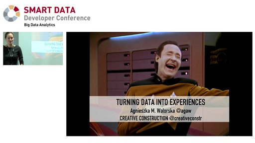 Turning Data into Experiences