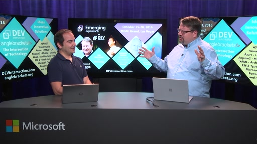 Giorgio Sardo and Richard Campbell talk Emerging Experiences at DEV intersection Fall Count Down Show #7 (Teaser)