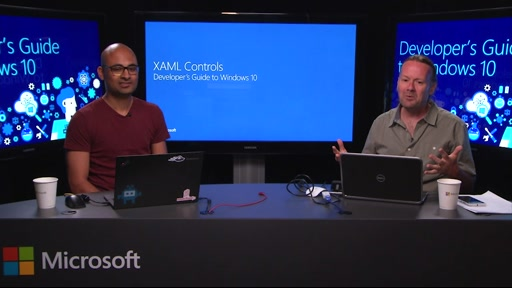 XAML Controls in UWP