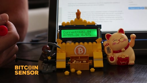 The Maker Show: Mini - Bitcoin Sensor