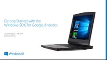 Getting started with the Windows SDK for Google Analytics
