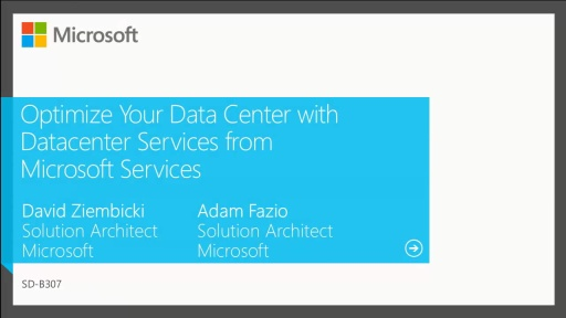 Optimize Your Data Center with Datacenter Services from Microsoft Services