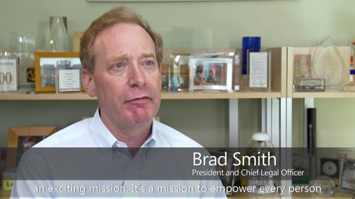 Brad Smith: Supporting the American Bar Association's Pledge for Change