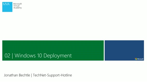 02| Windows 10 Deployment