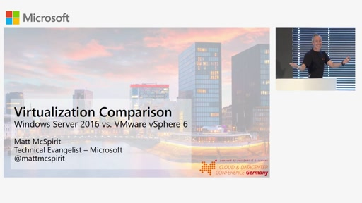 Windows Server 2016 Hyper-V vs. VMware vSphere 6 - Virtualization Comparison