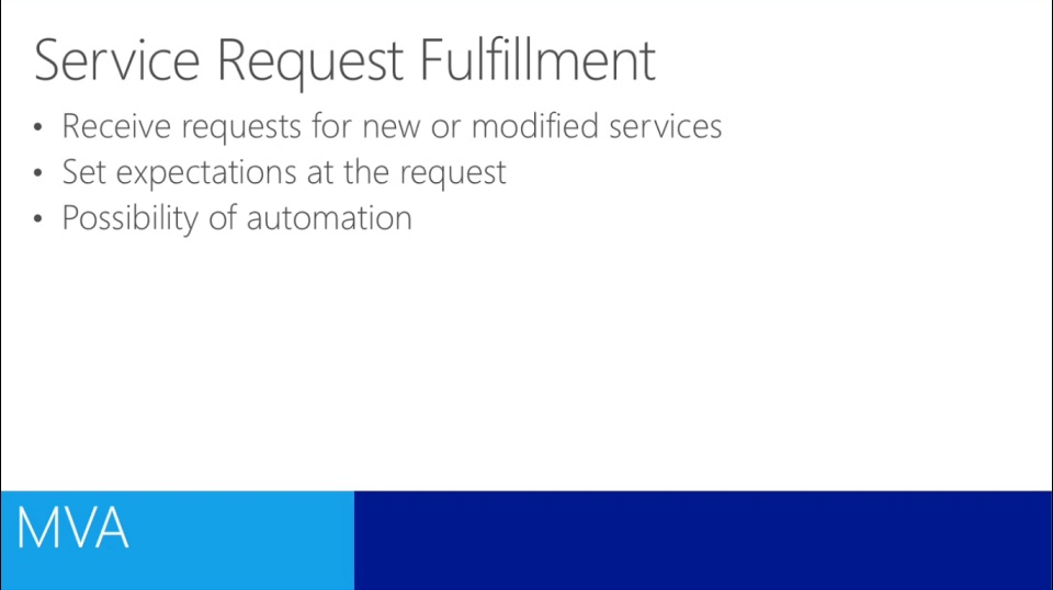 (Module 10) ITIL for IT Professionals - Service Request Fulfillment