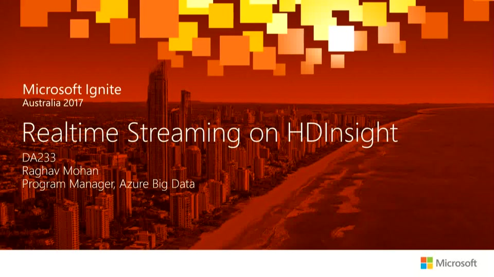 Real-time analytics with Apache Kafka for HDInsight | Connect