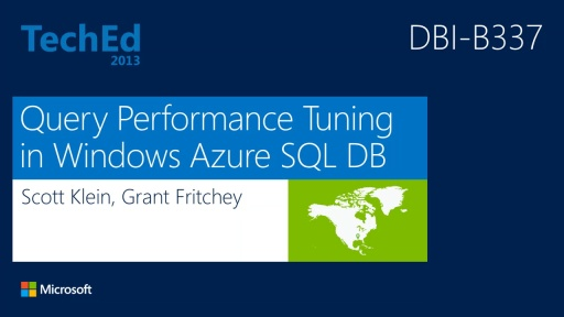 Query Performance Tuning Techniques For Windows Azure SQL Database