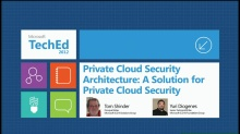 Private Cloud Security Architecture: A Solution for Private Cloud Security