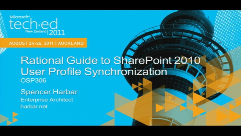 Rational Guide to SharePoint 2010 User Profile Synchronization
