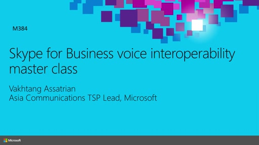 Skype for Business voice interoperability master class