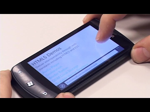 HTML5 en Windows Phone