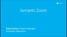 Semantic Zoom