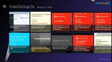 Microsoft DevRadio: Community Corner – How I created my Windows 8 app for UserGroup.tv