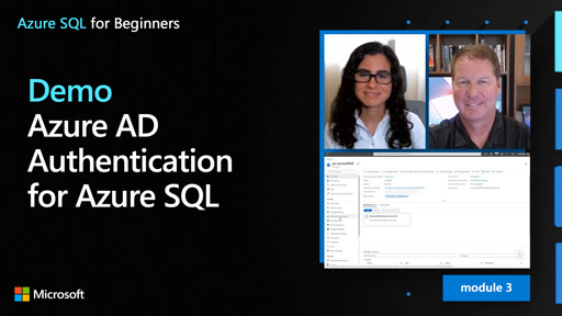 Demo: Azure AD Authentication for Azure SQL (25 of 61)