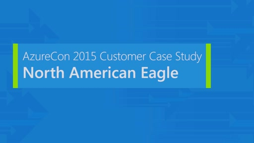 North American Eagle on Microsoft Azure