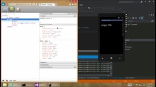 Use weinre, WP8 and IE10 to debug your mobile HTML5 page remotely