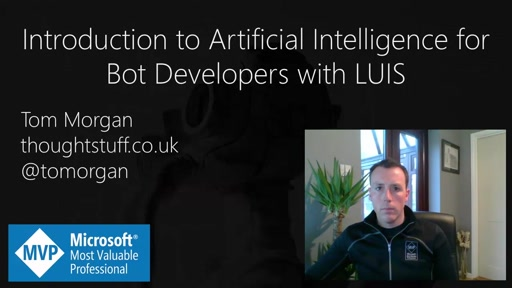Introduction to Artificial Intelligence for Bot Developers with LUIS