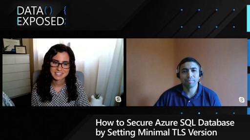 How to Secure Azure SQL Database by Setting Minimal TLS Version
