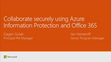 Collaborate securely using Azure Information Protection