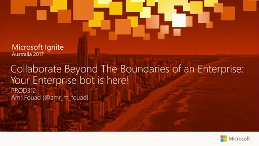 Collaborate beyond the boundaries of an enterprise:Your enterprise bot is here!