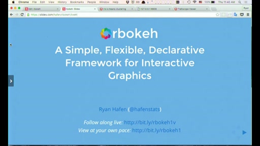 rbokeh: A Simple, Flexible, Declarative Framework for Interactive Graphics