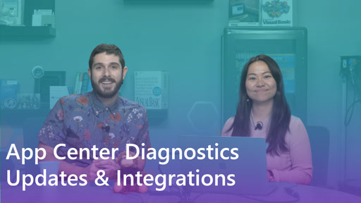 App Center Diagnostic Updates & Integrations